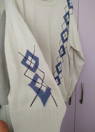 beyaz triko