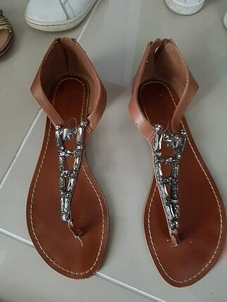 Harika taba rengi sandalet jessica simpson