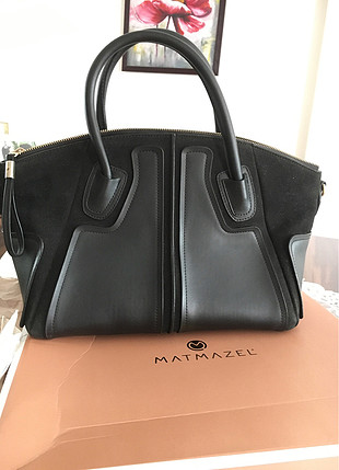 Siyah matmazel çanta