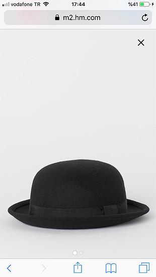 Keçeli şapka H M şapka 50 Indirimli Gardrops