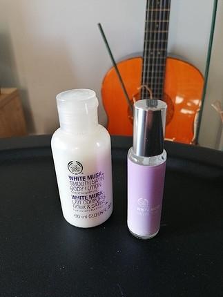 The Body Shop White Musk Parfüm&Losyon; Seti
