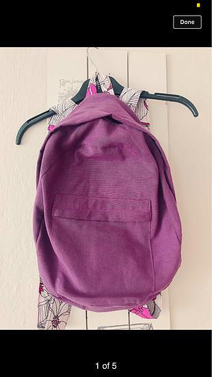 Bez sırt çantası