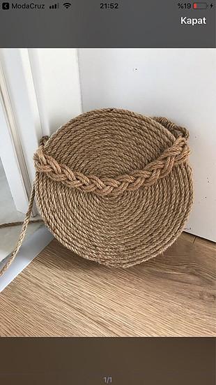Zara Hasır çanta