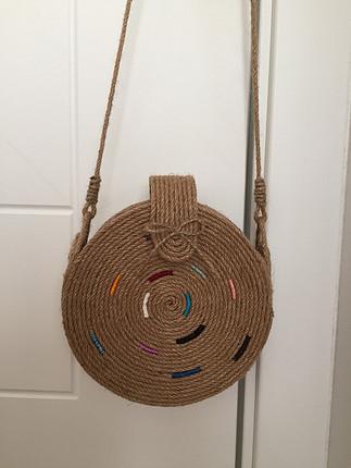Bershka Hasır çanta