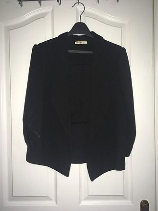 Siyah Şık Ceket