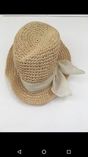 h&m hasır şapka
