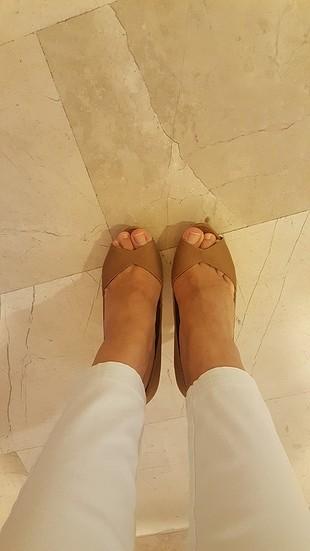 37 Beden taba Renk Topuklu ayakkabi