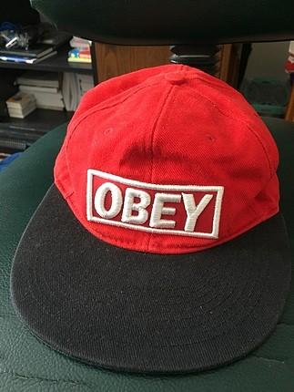 Obey kırmızı cap