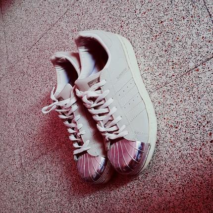 adidas superstar Grey toe