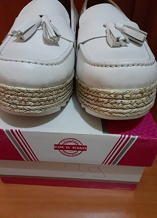 Galip Deri Beyaz Ayakkabi