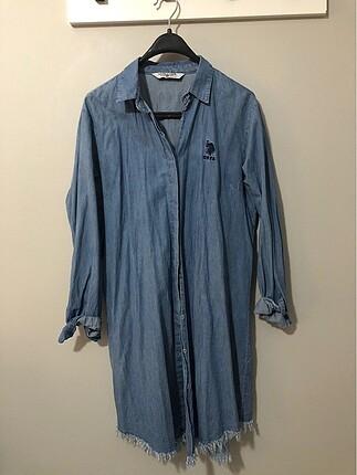 Kot gömlek tunik uzun 40-42-44