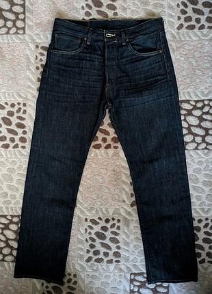 Sıfır Lacivert Levis 501 Jean Kot Pantolon