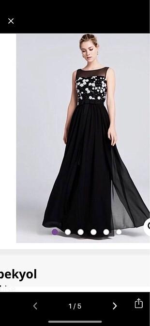 İpekyol abiye elbise
