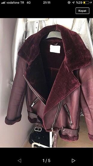 Zara deri kürk ceket