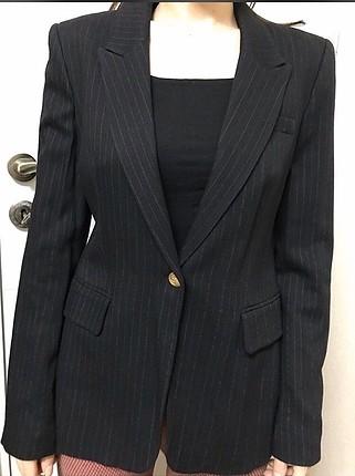 36 Beden siyah Renk Blazer ceket