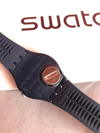 Beden lacivert Renk Swatch orjinal saat