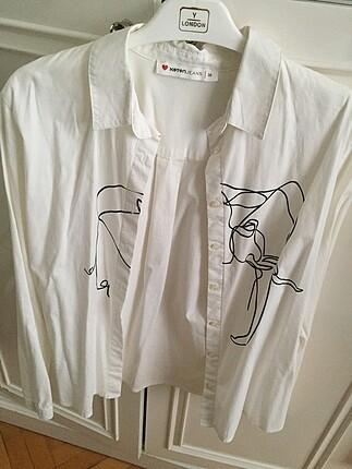 Koton Koton marka, fil detaylı gömlek