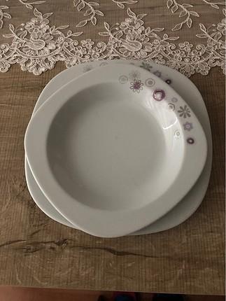 Kütahya porselen 6 servis 6 yemek tabağı