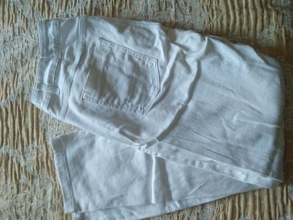 Diğer erkek beyaz pantolon kot