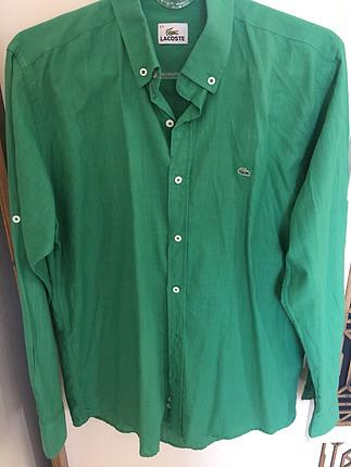 Lacoste Yeşil erkek gömlek