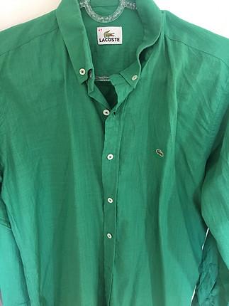 40 Beden Yeşil erkek gömlek