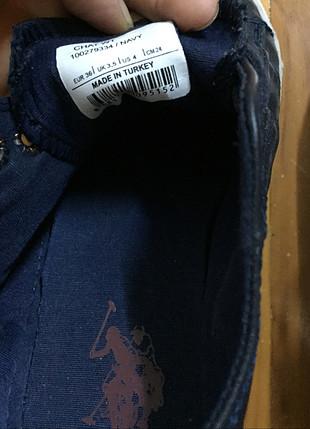 U.S Polo Assn. Us Polo spor ayakkabı