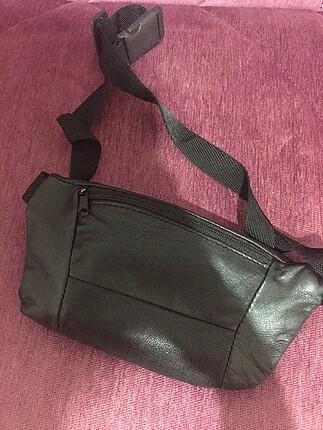 Beden siyah Renk Siyah vintage bel çantası