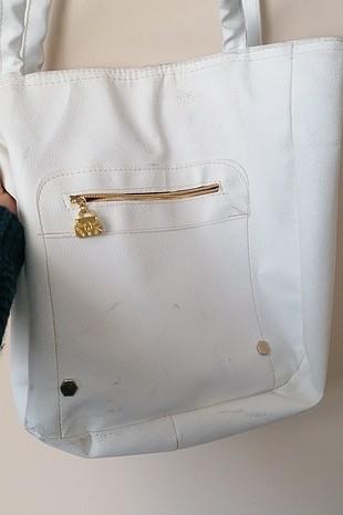 deforme siz fakat lekeli çanta