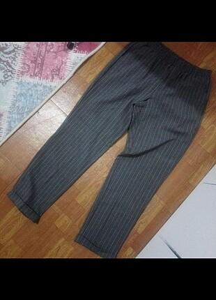 38 Beden gri Renk Kumaş pantolon