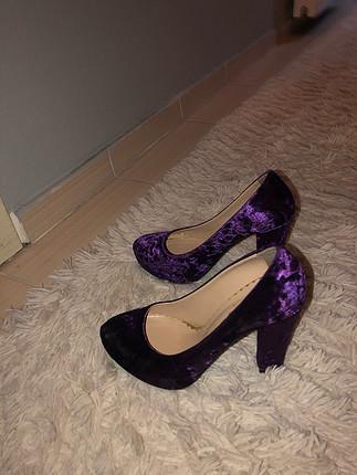 Murdum kadıfe ayakkabi