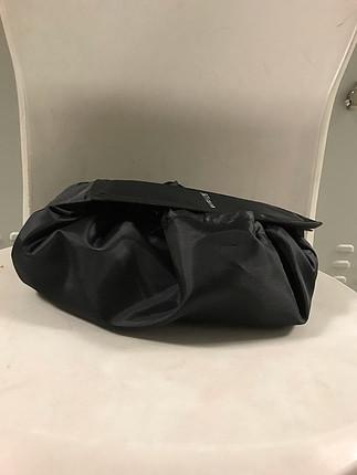 universal Beden siyah Renk Büzmeli makyaj çantası