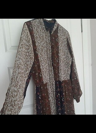 44 Beden camel Renk Lc wakiki elbise