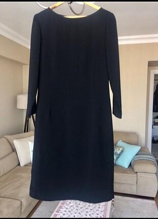 Siyah Klasik Elbise
