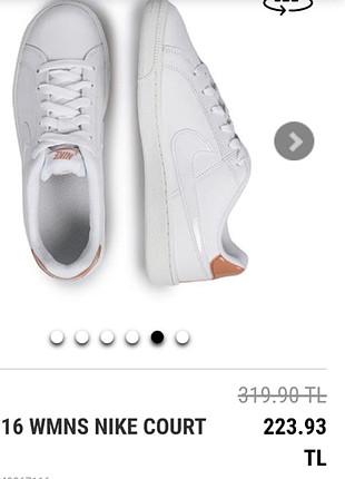 38 Beden beyaz Renk 38 no Nike spor ayakkabı