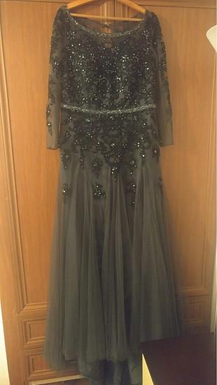 44 Beden Abiye elbise