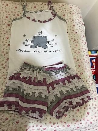 Yazlık pijama takımı