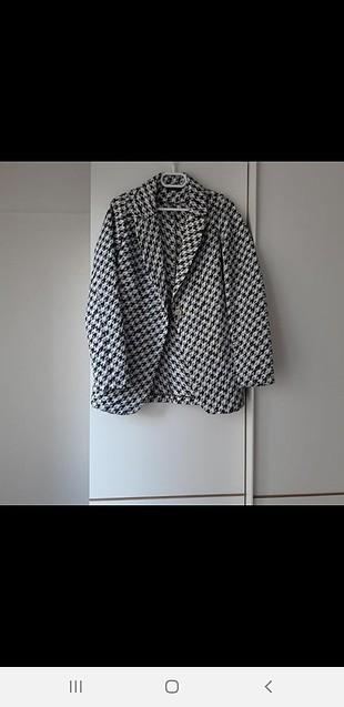 siyah beyaz ceket