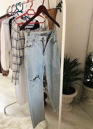 Topshop mom jeans