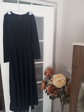 38 Beden lacivert Renk 38 beden elbise