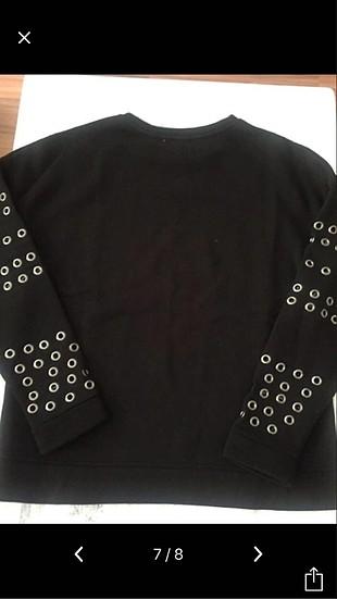 s Beden siyah Renk Twist Sweatshirt