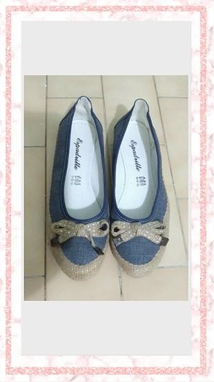 Kot ayakkabı hasır ayakkabı