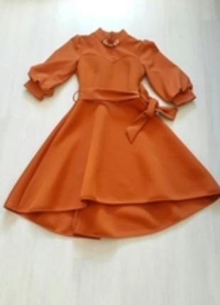 Arkası Uzun Onu Kısa Çan Elbise / Markasız Ürün