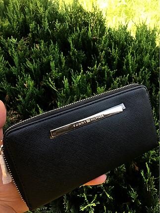Tommy Hilfiger siyah kadın cüzdan