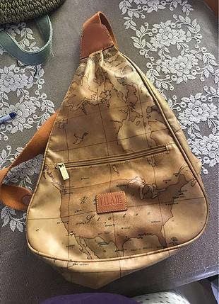 Çapraz orjinal deri çanta