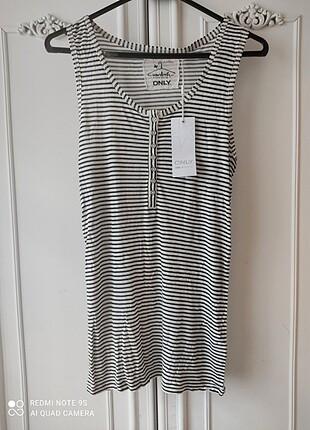Only marka L beden çizgili tişört