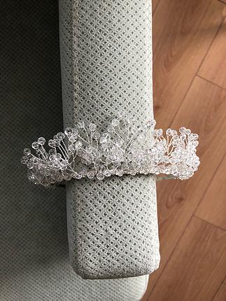 diğer Beden gümüş Renk Gelin tacı