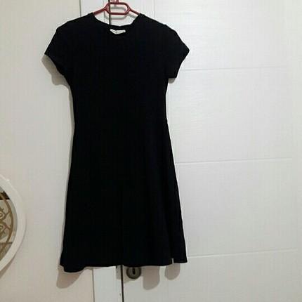 siyah kisa elbise