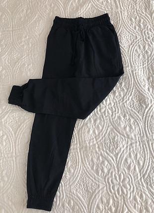 Yüksek bel lastikli pantalon