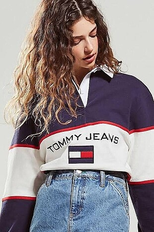 Tommy Hilfiger Jeans Polo Sweatshirt