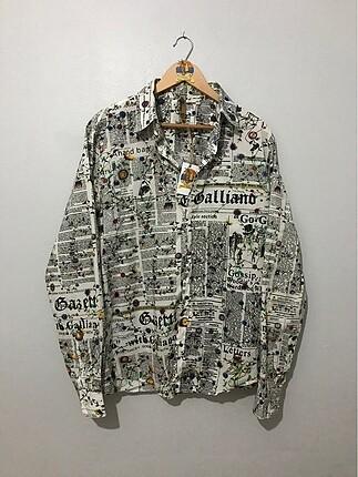 John Galliano İtalyan Gömlek